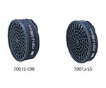 防毒マスク用吸収缶 有機ガス用吸収缶(防塵機能付き) 7011J-55