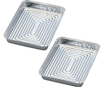 Aluminum Tray Square S-5 100 Pcs 240 x 180mm...  Others