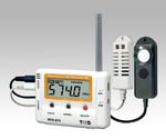 ワイヤレスデータロガー(子機)温度・湿度・照度・UV×各1ch等
