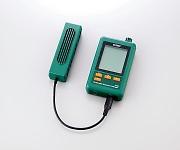 CO2モニター付き温湿度データロガー