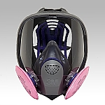 [Discontinued]Dustproof Mask (Full Face Type) Size M FF-400J/2091-RL3M
