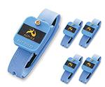 アズピュアリストストラップ 5個(静電気対策用品) ML-33C1-SL