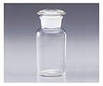 [Discontinued]Wide-Mouth Bottle with Ground-In Stopper White 30mL and others