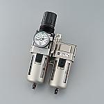 [取扱停止]エアーフィルター フィルターレギュレーター+ミストセパレーター Rc1/8 AC20D-01G