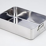 Deep Type Stainless Steel Tray Set Size 557 x 406 x 153mm 14
