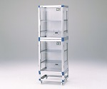 ID Desiccator 574 x 517 x 1765mm Reinforced Plastic Shelf Board and others