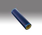 アズピュア帯電防止粘着ロール(PEフィルム) 青 320mm×20m 1本入  ASE320