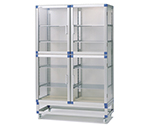 Standard Desiccators Jumbo 1152 x 517 x 1765mm Stainless Steel Shelf SD-WSN