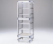 Standard Desiccator Both Sides Type Reinforced Plastic Shelf 574 x 546 x 1765mm SDW-SP