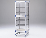 Standard Desiccator Both Sides Type Stainless Steel Rack 574 x 546 x 1765mm SDW-SS