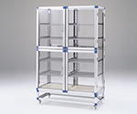Standard Desiccator Both Sides Type Stainless Steel Rack 1152 x 546 x 1765mm SDW-WS