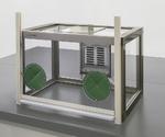 粉体計量用ドラフト(手窓付) FKD-600ADW