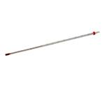赤液棒状温度計 0~100℃