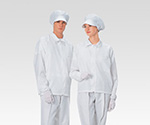 Dust-Free Garment AS 240 C Unisex Coat WHITE 4 L and others