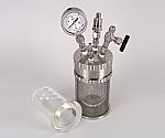 加圧反応ガラス容器 ミニクレーブ 100mL 等