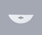 PTFE Stirring Blade Blade Round Type 150 x 25mm 002.1150.1