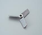 Propeller for Air Mixer Aluminum Blades 3