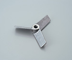 Propeller for Air Mixer Stainless Blades 3
