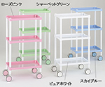 Color Round Carts 2 stages Rose Pink 450 x 300 x 819mm and others