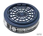 防毒マスク(有機ガス用防塵フィルター付き・区分2)吸収缶 G37S2