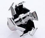 電子制御撹拌機(ユーロスター20)用 溶解型撹拌羽根 R1402 φ42等