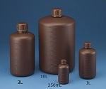 Narrow-Mouth Round Shading Bottle 500mL (Brown) No Set and others