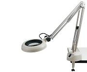 LED照明拡大鏡(フリーアーム・クランプ取付)等