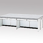 [Discontinued]Central Laboratory Bench (White) and others