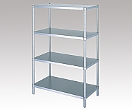 Stainless Steel Rack (Stainless Steel (SUS304)), Flat Board Shelf 4 Stages Specification) 888 x 438 x 1800 and others