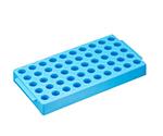 Rack for Cryo Vial 50 Pcs Storage 100 x 200 x 250mm Blue T315-2