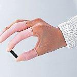 アズピュア帯電防止指サック ピンク ロールタイプ 1440個等