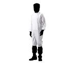 アズピュアクリーンスーツ(フード別・サイドファスナー型) ポケット無し