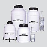 チャート 液体窒素保存容器 CryoSystem等