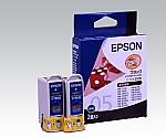 エプソン純正インクカートリッジ IC1BK05W ブラック(2本/箱)