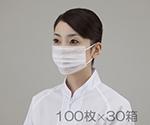 サニエコマスク ケース販売 3000枚入 2ply平面耳掛け