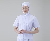 食品ユニフォーム女性用 半袖