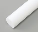 樹脂丸棒 PTFE (長さ495mm)
