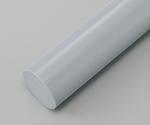 樹脂丸棒 PVC (長さ495mm)等