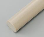 樹脂丸棒 PEEK (長さ495mm)