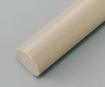 樹脂丸棒 PPS (長さ495mm)等