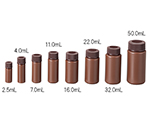 PP Vial Bottle 2.5mL Brown and others