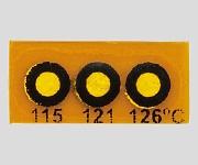 真空装置内用 温度プレート 3点表示