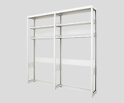 Standard Rack without Storage 1090 x 345 x 2160mm and others