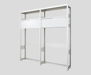 Standard Rack with Storage 1090 x 345 x 2160mm and others