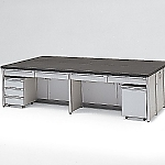 [Discontinued]Central Laboratory Bench Frame Type 1800 x 1200 x 850 and others