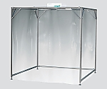 Clean Booth Aluminum Pipe Specification Class 10000 1500 x 1500 x 2000 and others
