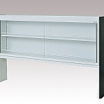 [Discontinued]Reagent Shelf Steel Type, Single-Sided Type, with Glass Door 880 x 200 x 1100 and others