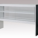 [Discontinued]Reagent Shelf Steel Type, Double-Sided Type, with Glass Door 1780 x 372 x 1100 and others