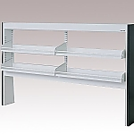 [Discontinued]Reagent Shelf Steel Type, Rack Type, Single-Sided Type 1180 x 200 x 1100 and others
