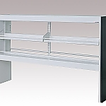 [Discontinued]Reagent Shelf Steel Type, Rack Type, Double-Sided Type 1780 x 340 x 1100 and others